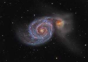 APOD: 2015 May 2 - M51: The Whirlpool Galaxy