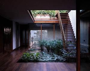 Central, Courtyard, Pool, Exterior, Staircase, Interior, Design