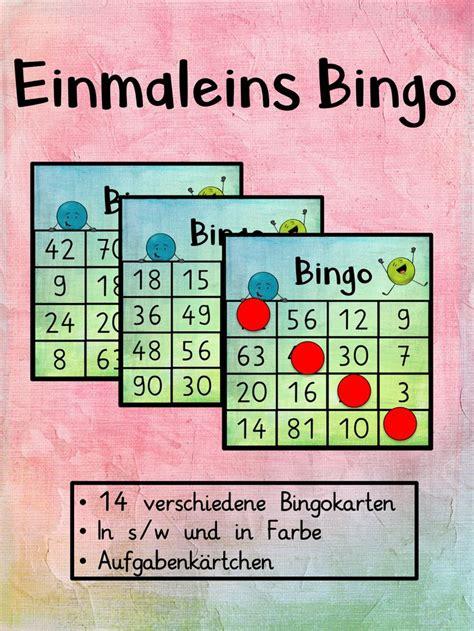 Hier könnt ihr einfach und kostenlos bingo scheine zum ausdrucken erstellen. Bingo Karten Einmaleins - Unterrichtsmaterial im Fach Mathematik   Bingo karten, Bingo, Bingo ...