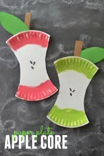 childrens crafts to make diy apple project crafts