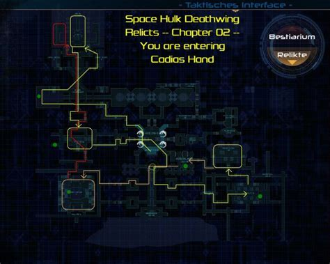 space hulk deathwing  relic locations guide