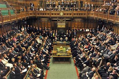 Commons British Government Britannica Parliament Chamber Houses