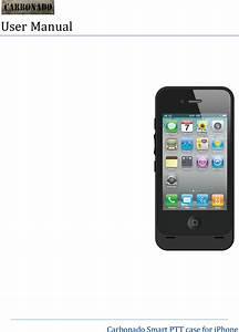 Kodiak Networks I4c0 Carbonado Smart Ptt Case For Iphone