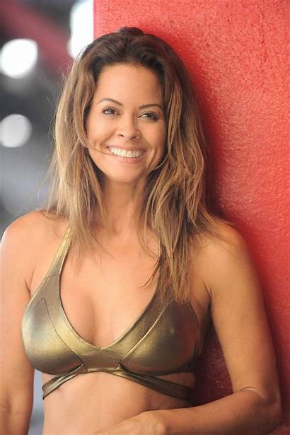 Brooke Burke Bikini Gold Charvet Malibu Beach