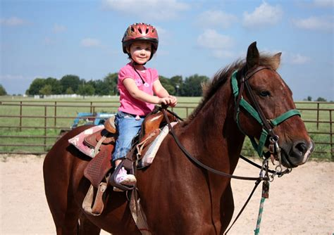 benefits  enrolling  child  horseback riding