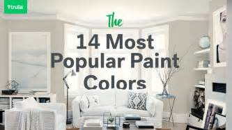popular home interior paint colors 14 popular paint colors for small rooms at home trulia