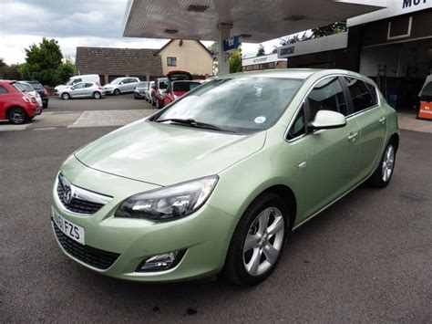 vauxhall green used green vauxhall astra for sale gloucestershire