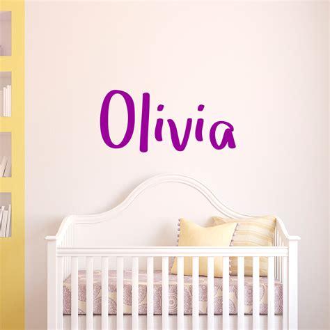 stickers chambre bébé personnalisé sticker prénom personnalisé scolaire passionnant