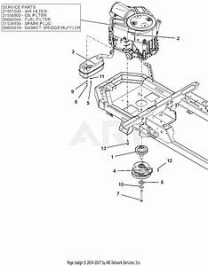 Ariens 915205  000101 -   Ikon-x 52 Parts Diagram For Engine