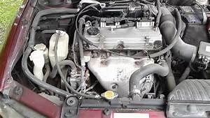 Mitsubishi Galant 2003 Water Pump Damaged