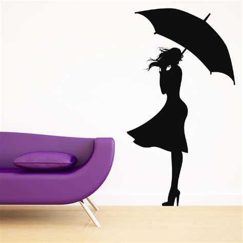 stickers femme parapluie achetez vos stickers moins cher