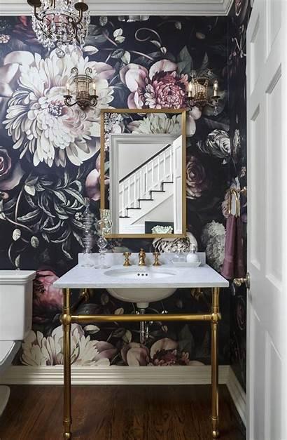 Powder Rooms Bathroom Bold Half Bath Decor
