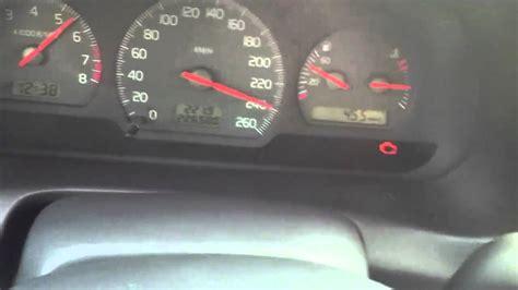 volvo s40 2.0t(auto) top speed 262kmh - YouTube