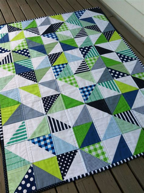 Patchwork Muster Modern by Pdf Pattern For Geometric Modern Cot Crib Patchwork Quilt
