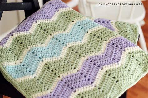 fresh easy chevron blanket crochet pattern daisy cottage