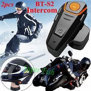 Aliexpress.com : Buy 2pcs BT S2 Intercom 1000M Motorcycle ...