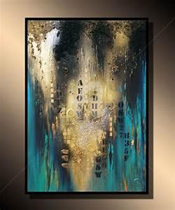 Tableau Peinture Sur Toile : tableau peinture art acrylique abstrait moderne dh64 jornalagora ~ Teatrodelosmanantiales.com Idées de Décoration