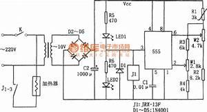Temperature Range Controller Circuit Diagram Composed Of