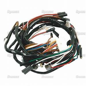 Ford Tractor Wiring Harness 2110  4110lcg 3400 3500 3550 4400 4500 Loader  Backhoe 607939630621