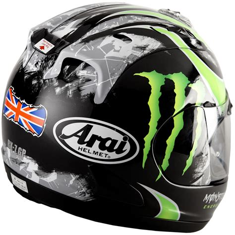 arai rx 7 gp cal crutchlow official replica autographed motorcycle helmet medium ebay