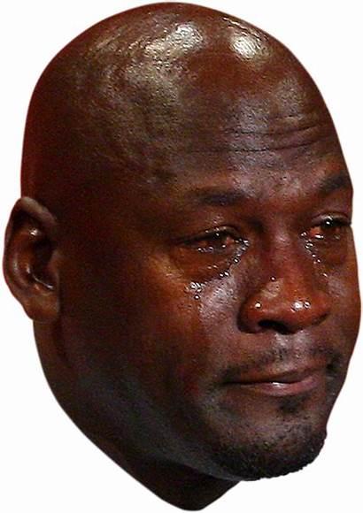 Jordan Steve Crying Face Transparent Funny Memes