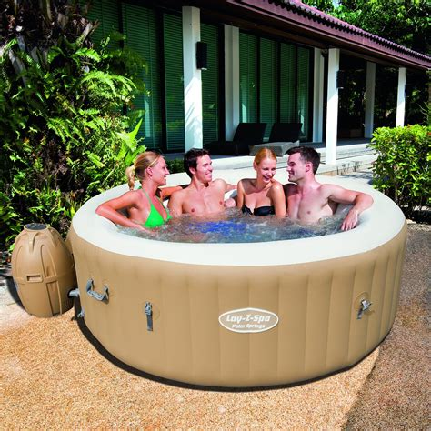 tub spa lay springs palm inflatable jacuzzi tubs blow