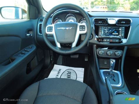 chrysler  touring sedan black dashboard photo