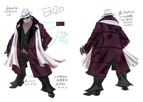 Character Design Pt 2 Luka Rodin And Enzo