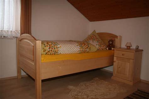 Bett Metallfrei In Fichte Massiv Im Landhausstil Von Der
