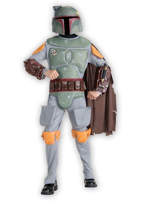 Star Wars Boba Fett Deluxe Costume for Boys