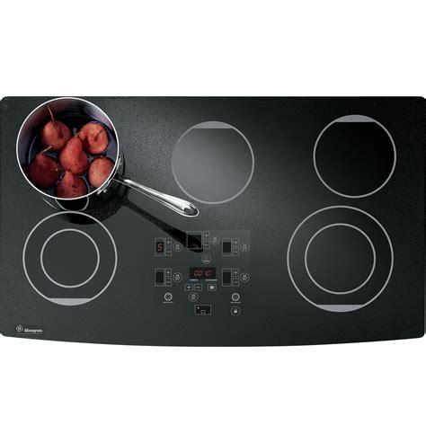 ge monogram  digital electric cooktop zeurbfbb ge appliances