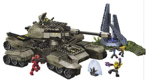 Mega Bloks  Halo Wars  Unsc Rhino 822 Piece Set 97016