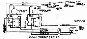 Power Seat Wiring Diagram Of 1958 60 Ford Thunderbird  60381