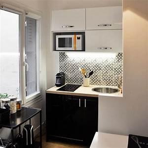 amenagement petite cuisine ferme trendy petite cuisine With comment meubler un studio 6 petites cuisines mobalpa