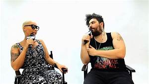 Amber Rose Cries During Interview - Fat Jew vs. Amber Rose ...