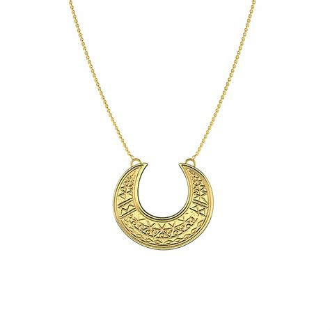 MOON NECKLACE - MARIA PASCUAL JEWELRY