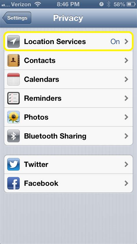 location settings iphone how to turn location data on iphone photos
