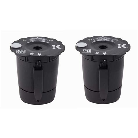 You are now subscribed to the walmart newsletter. 2 Pcs Coffee Capsule Plastic Capsule Refillable Reusable Compatible Reusable Coffee Filter Pod ...