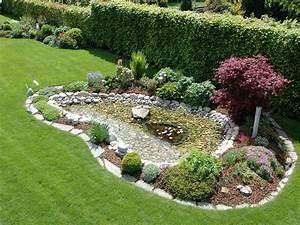 Gartengestaltung Mit Teich : gartenteich gestaltungsideen ~ Markanthonyermac.com Haus und Dekorationen