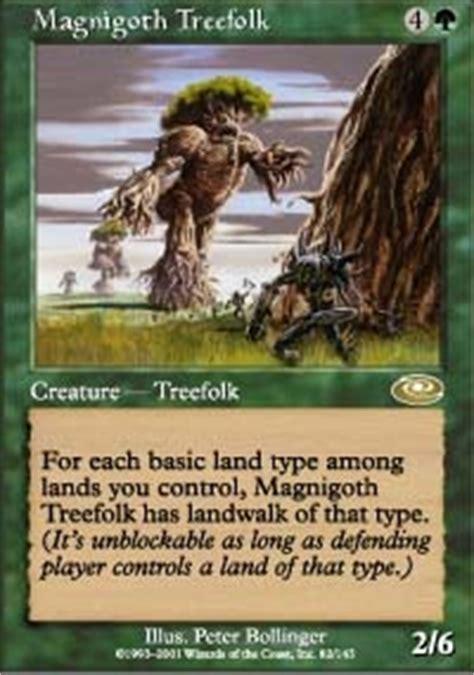 Mtg Treefolk Deck Legacy by Doran The Siege Tower Commander Edh Mtg Deck