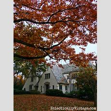 Fall Curb Appeal  Gorgeous Home Inspiration