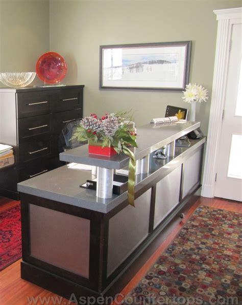 granite reception desk aspen countertops