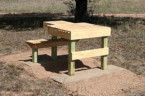 show   homemade shooting benches hunting gear