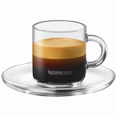 Nespresso Espresso Kaffee Tassen Vertuo Glastassen 80ml