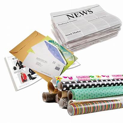 Recycling Paper Austintexas Magazines Recovery Types Gov