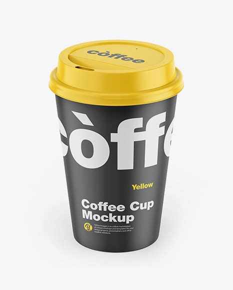 Use this mockup of matte coffee creamer for the most effective display of your design. Matte Coffee Cup Mockup in Cup & Bowl Mockups on Yellow ...