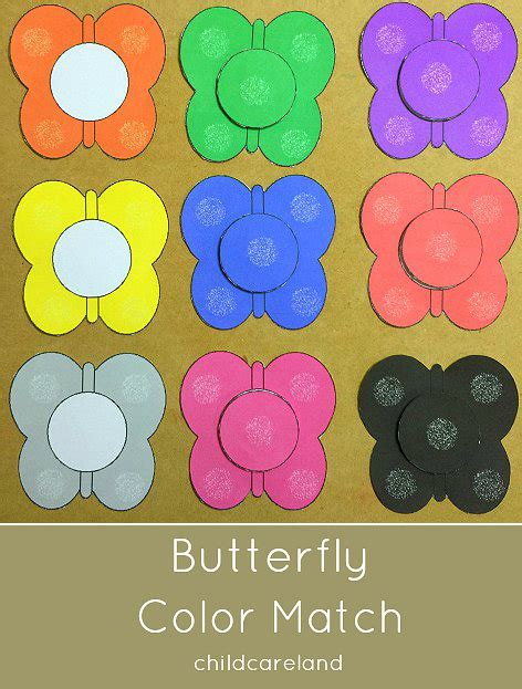 butterfly color match great for toddlers and 337   1777421a9dda36fac369d617242dea91