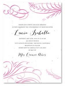 quinceanera invitation wording quinceanera invitations wording in dancemomsinfo