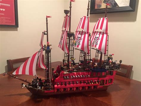 Lego Boat Pirate by Custom Lego Pirate Ship Chris A Sutton Most Pieces Come