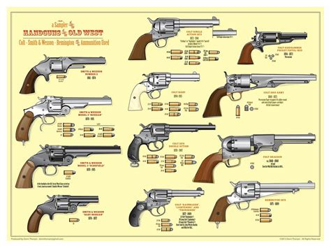 guns of the west guns original artwork by donn thorso flickr
